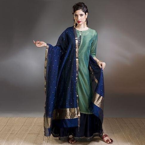 Shalwar Kameez Dupatta Styles