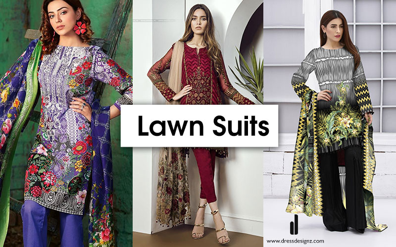 Shop Online Lawn Suits in Pakistan