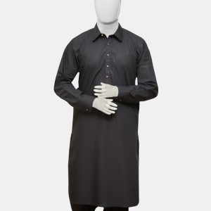 Kameez Shalwar Suit Black