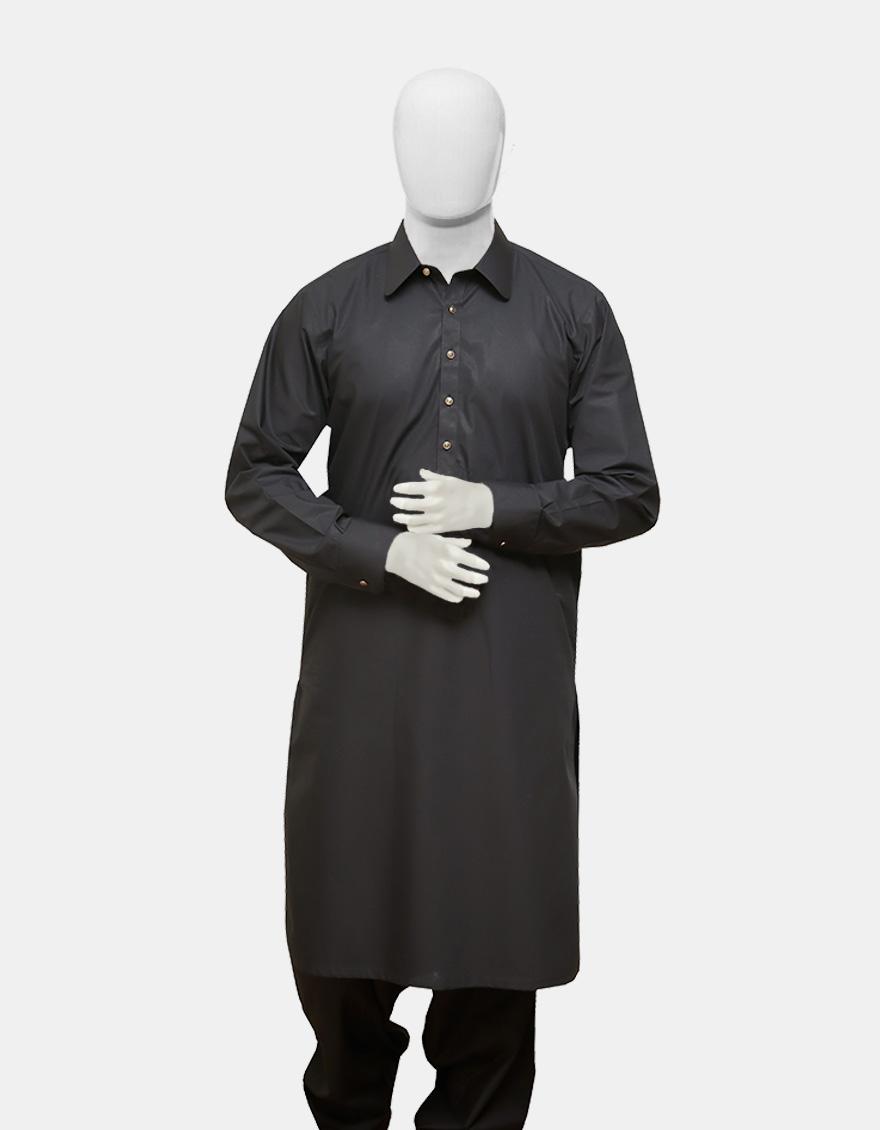 Kameez Shalwar Suit Black