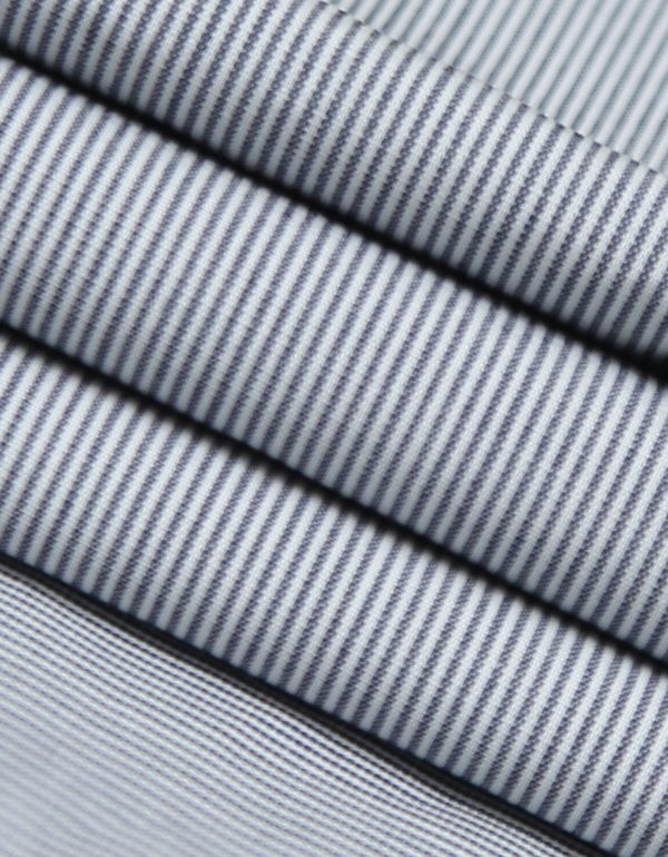 Blue Line Cotton Fabric