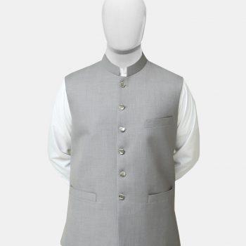 Gray Readymade Waistcoat
