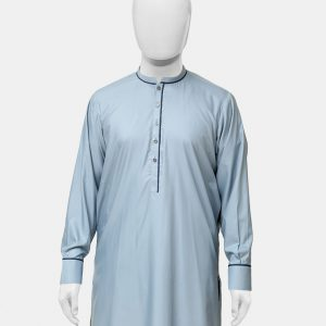 Kameez Shalwar Suit Steel Blue