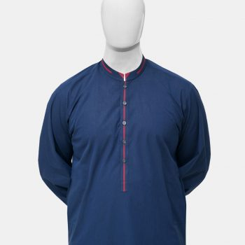Kurta Trouser Navy Blue