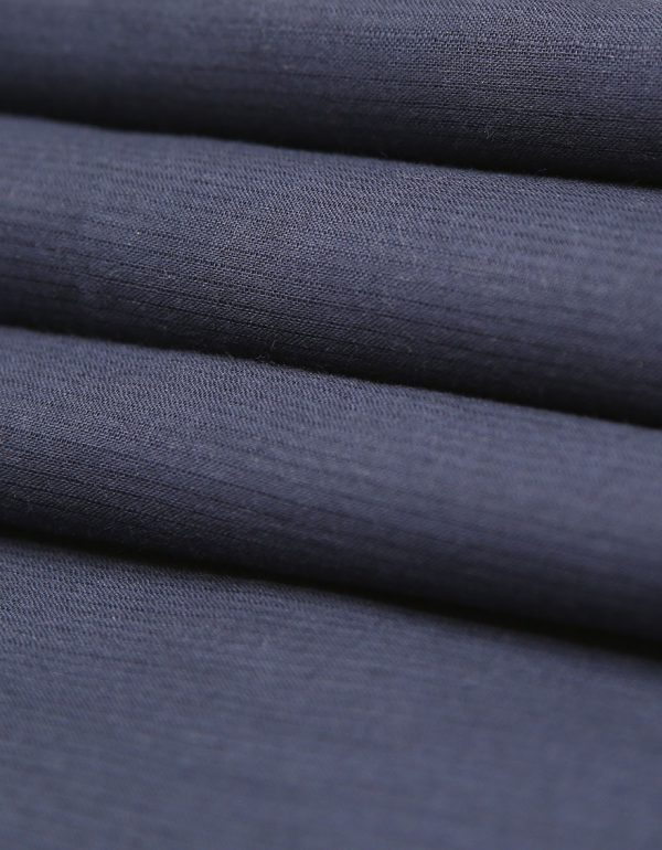 Navy Blue Kamalia Khaddar Fabric