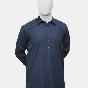 Kameez Shalwar Suit Navy Blue