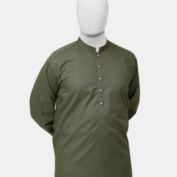 Kurta Trouser Olive Green