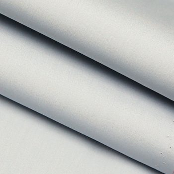Smoke Gray Blended Fabric