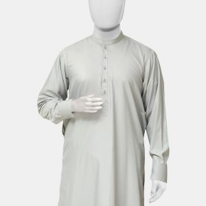 Kameez Shalwar Suit Smoke Gray