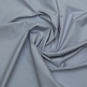 Steel Blue Blended Fabric