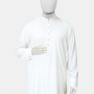 Kameez Shalwar Suit White