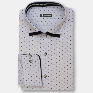 Black Stars Dress Shirt