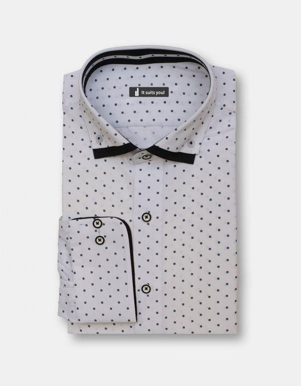 Black Stars Dress Shirt