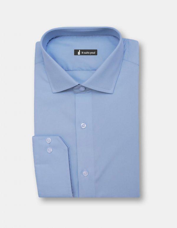 Sky Blue Dress Shirt