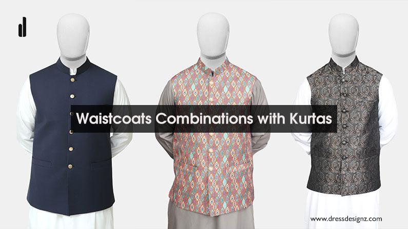 5 Best Waistcoats Combinations with Kurtas